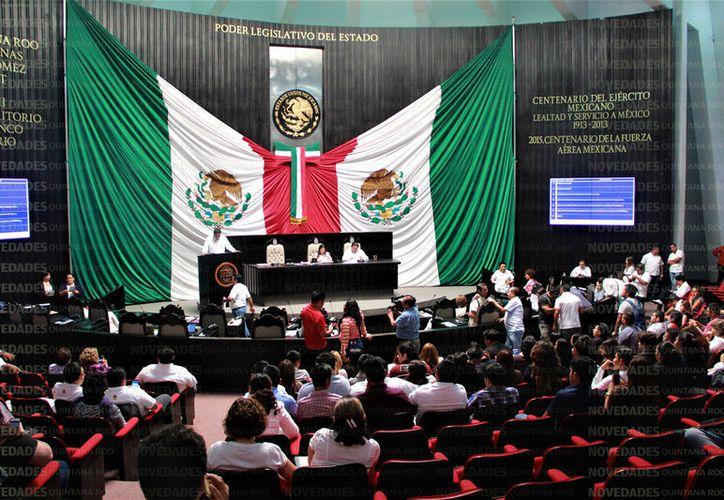 La Comisión Transitoria del Congreso del Estado envió al magistrado la copia completa del expediente. (Foto: David de la Fuente)