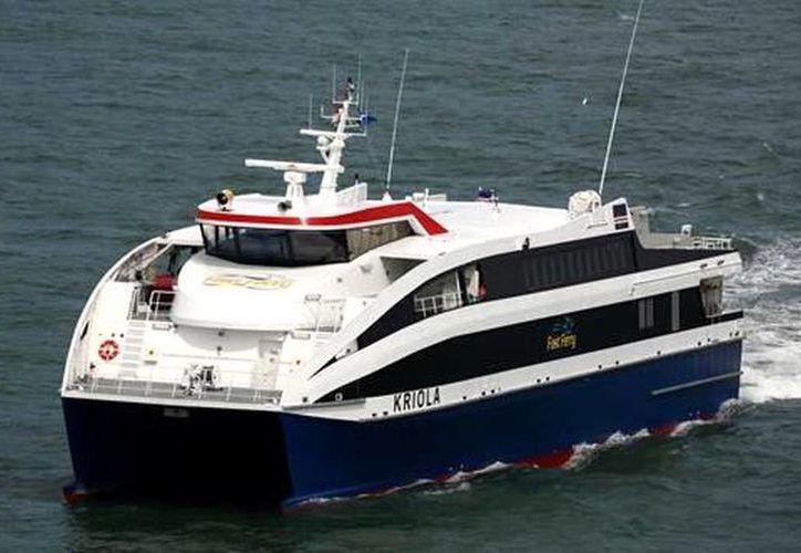 Falta que el gobierno cubano apruebe la llegada de ferries a la isla. (AP)