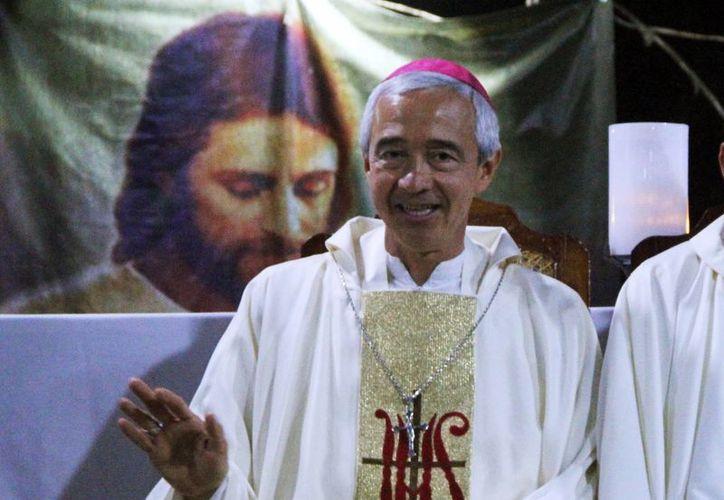 Mons. Jorge Patrón Wong reafirmó el deseo del Papa Francisco de ver los seminarios llenos. (Milenio Novedades)