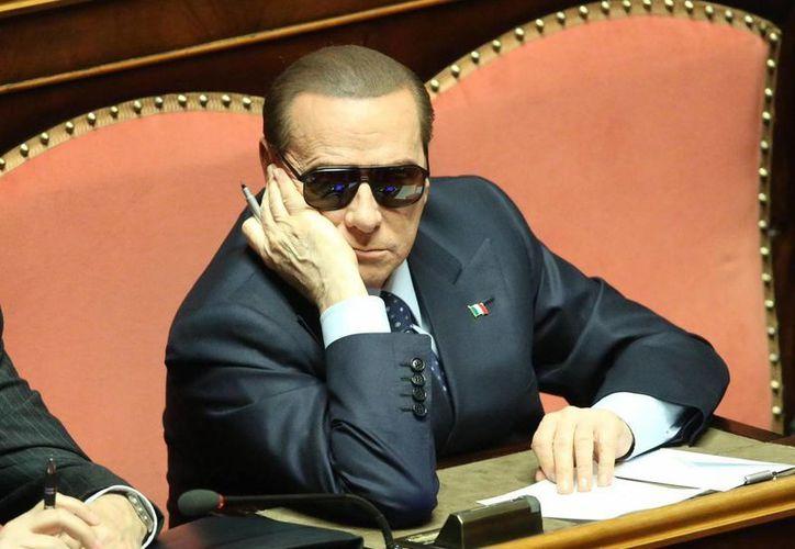 Imagen de archivo fechada el 16 de marza del 2013 del ex primer ministro italiano Silvio Berlusconi, en Roma, Italia. (EFE)