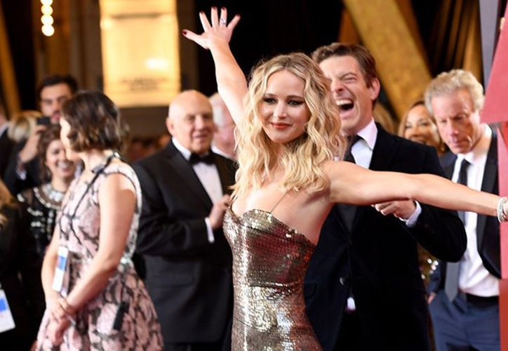 Jennifer Lawrence mantiene una figura envidiable. (vanguardia.com)