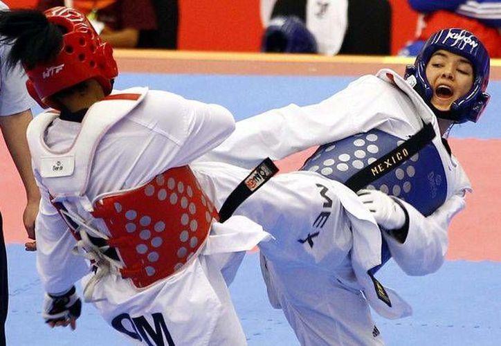 María Espinoza, de Tae kwon do, una de las cartas fuertes de México para Juegos Olímpicos. (tkdlatino.com)