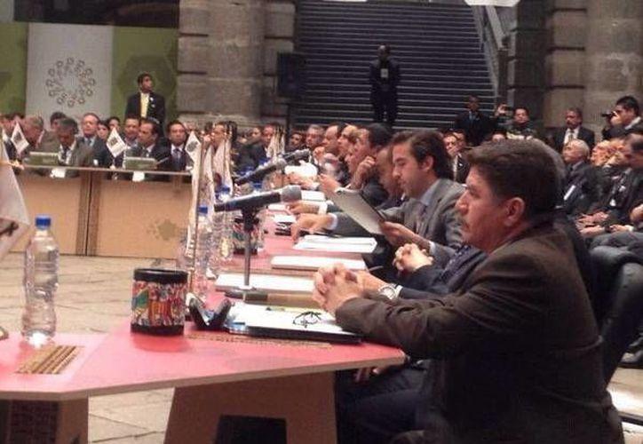 Reunión de la Comisión Ejecutiva de Desarrollo Metropolitano de Conago. (Milenio Novedades)
