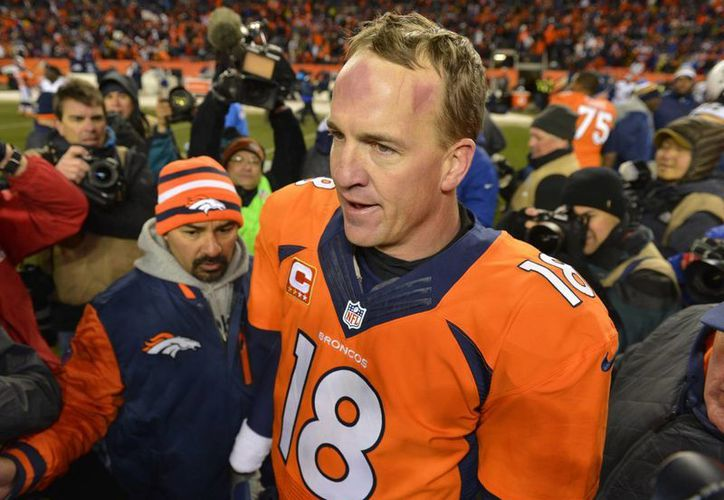 Peyton Manning no permitió que los Broncos se desplomasen. (Agencias)