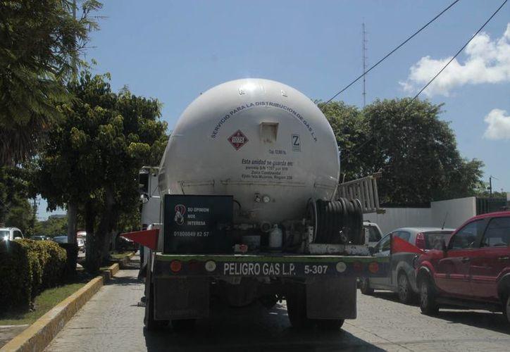 El Diario Oficial de la Federación, el pasado 30 de septiembre, publicó el precio del gas. (Tomás Álvarez/SIPSE)