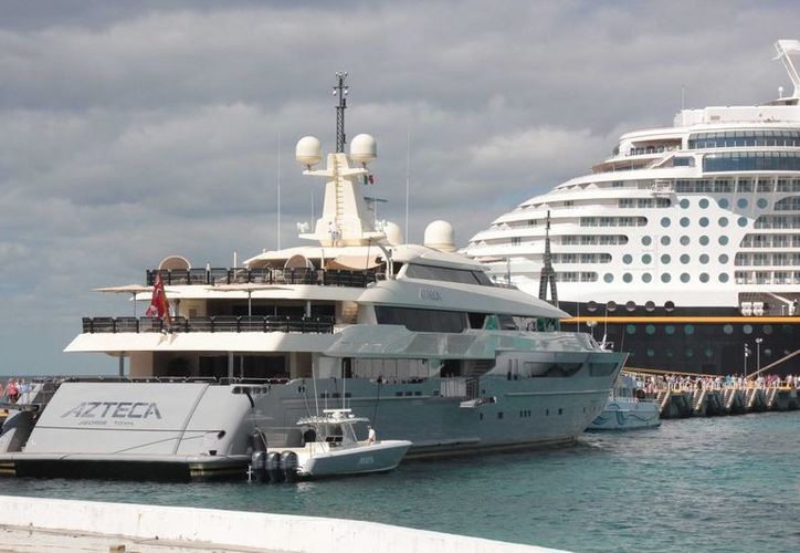 Con una marina para megayates Cozumel pretende ser más atractivo para el turismo de lujo. (Gustavo Villegas/SIPSE)