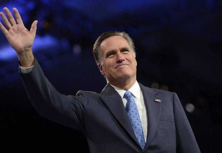 Mitt Romney perdió la contienda por la Presidencia de EU en 2012 ante Barack Obama. (EFE/Archivo)