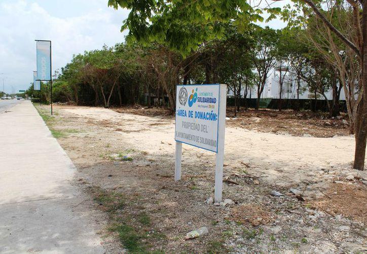El espacio donde se construiría la funeraria es un área de donación. (Octavio Martínez/SIPSE)