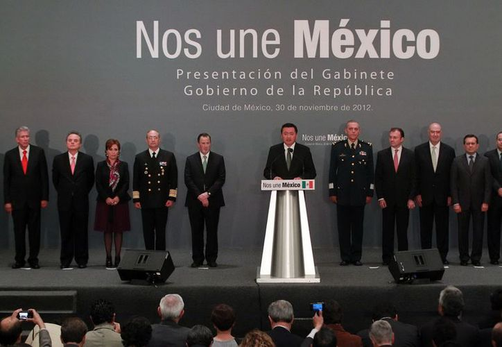 Hoy fueron nombrados los integrantes del gabinete presidencial. (Notimex)