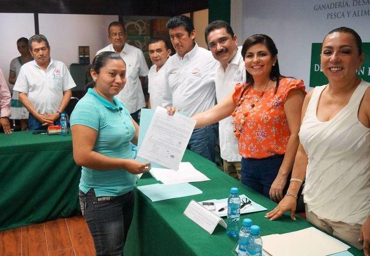 Estos recursos son en beneficio de 233 productores rurales. (Edgardo Rodríguez/SIPSE)