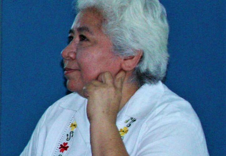 La escritora Ana Patricia Martínez Huchim. (Foto: Rodrigo Vences Nava/ latinamericanliteraturetoday.org)