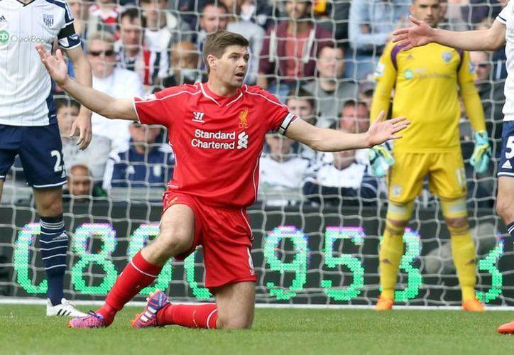 Gerard debutó con los 'Reds' en 1998. (Foto: EFE)