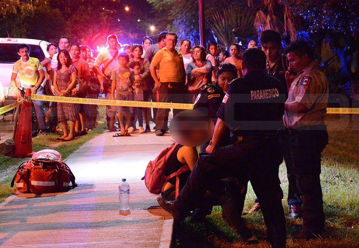 Un asalto juvenil se presentó en el fraccionamiento del Parque cuando dos mejores le robaron sus pertenencias a una estudiante que salía de la escuela. (V. González/SIPSE)