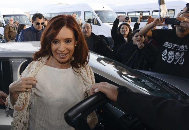 Cristina Fernández es también acusada por otros cargos de corrupción que habrían sucedido durante su mandato. (AP)