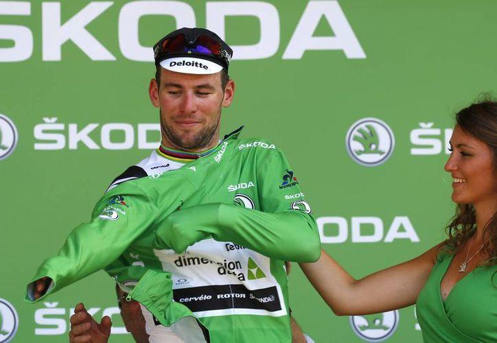 Mark Cavendish fue el ganador de la sexta etapa del Tour de Francia. (Fotos: AP)