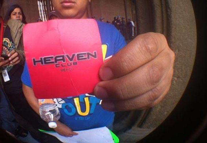 Los asistentes al bar Heaven debían mostrar una contraseña para poder ingresar. (proyecto40.com/Archivo)
