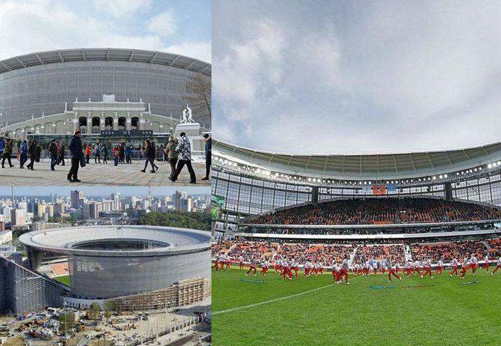 El estadio de Ekaterimburgo es uno de tantos que costó mucho construir y ahora costará mucho en mantenimiento (Foto: diezhn.com)