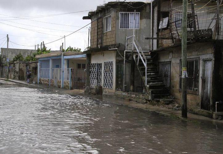Resultaron con afectaciones 22 colonias de la ciudad. (Tomás Álvarez/SIPSE)