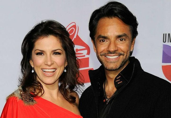 Alessandra Rosaldo y Eugenio Derbez, felices esperan a su primer hijo. (mx.hola.com)