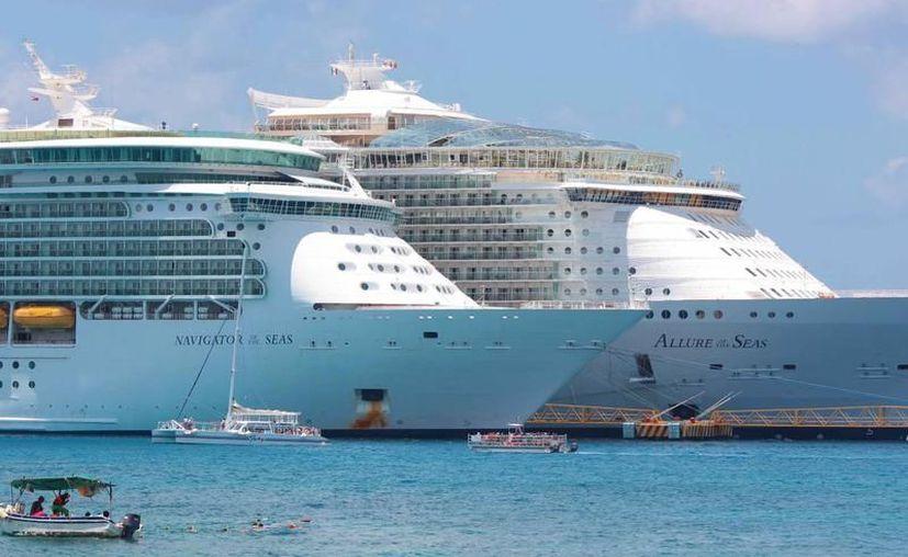 Cozumel recibe al año más de mil 200 cruceros de las navieras más importantes del mundo. (Redacción/SIPSE).