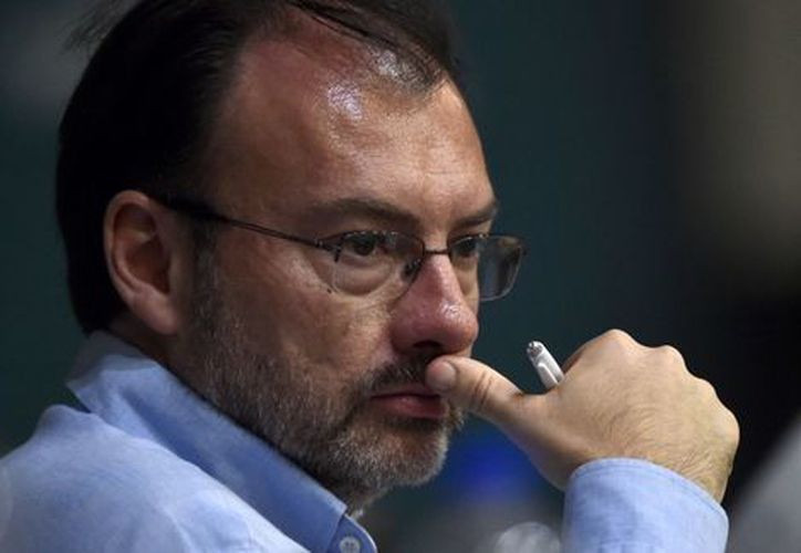 Secretario de Hacienda, Luis Videgaray. (AFP)