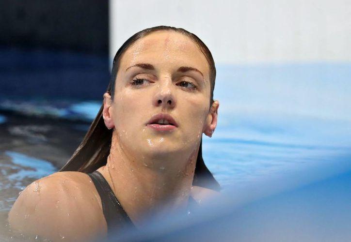 Tan solo este martes la nadadora húngara Katinka Hosszu ganó cuatro medallas de oro en el Mundial de Tokio. (EFE)