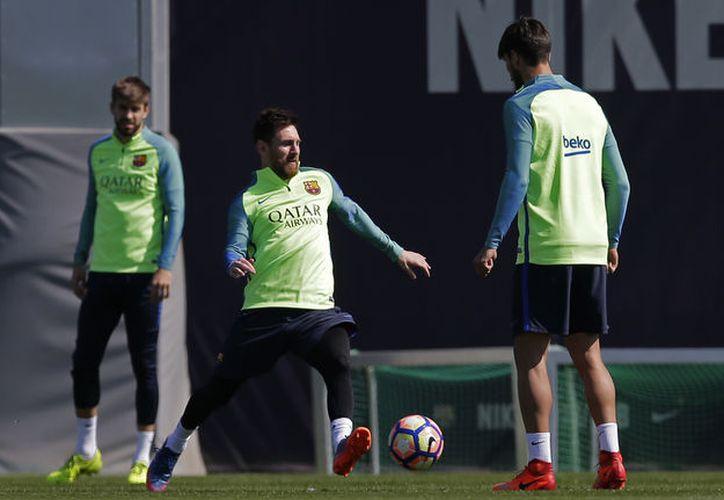 Lionel Messi jugador del Barcelona (La Jornada)
