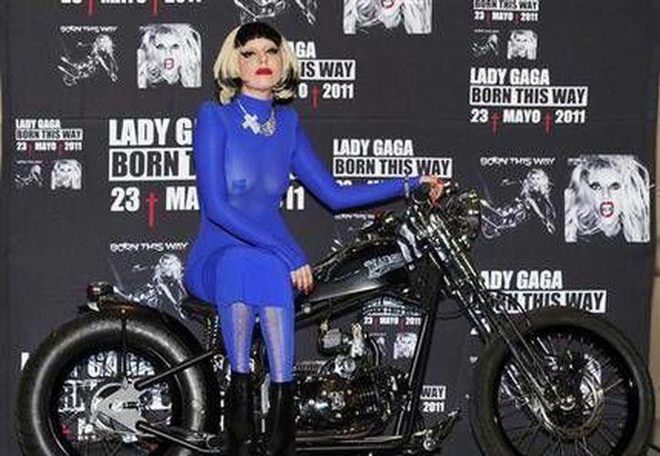 Lay Gaga es una de las artistas que cuando venga a México aconsejará a los jóvenes a encausar su insatisfacción social a través de la música, no de la violencia. (Agencias)