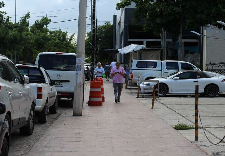 La renovación de esta avenida con personalidades internacionales es parte del proyecto de reactivación del turismo. (Alejandro García/SIPSE)