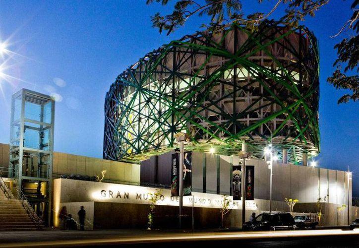El Gran Museo del Mundo Maya, sede del proyecto Ópera en el Cine. (SIPSE)