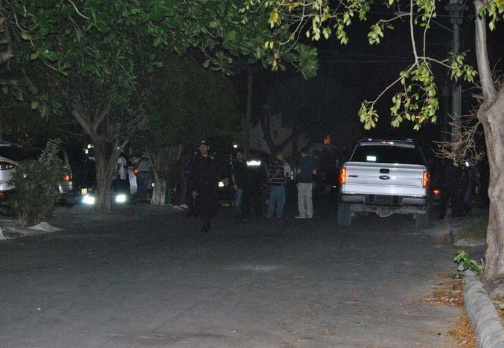 El viernes por la noche se reportaron detonaciones de arma de fuego en la Supermanzana 45 de Cancún. (Redacción/SIPSE)