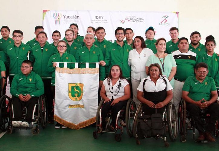 El evento se realizó en el Centro Paralímpico de Yucatán y donde se dieron cita autoridades, deportistas, padres de familia y público en general. (Jorge Acosta/Milenio Novedades)