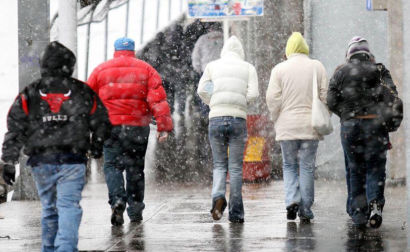 Protección Civil emitió una alerta meteorológica por el descenso de temperaturas y posibles nevadas. (Foto: Contexto)