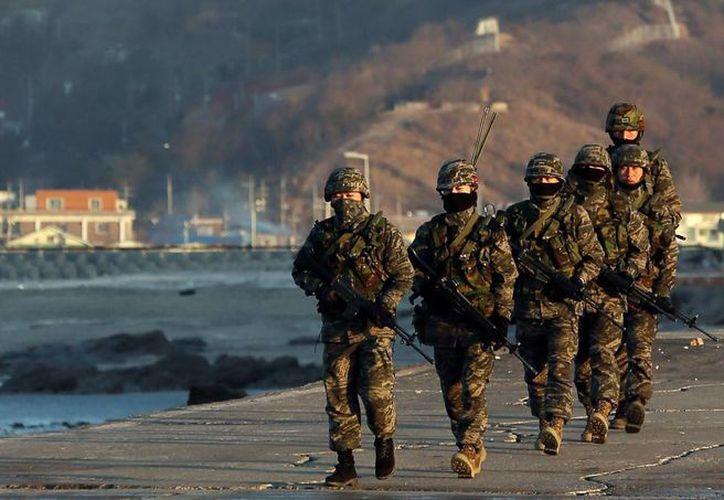 Corea del Sur y E.U. comenzaron este lunes sus ejercicios militares conjuntos anuales. (Agencias)