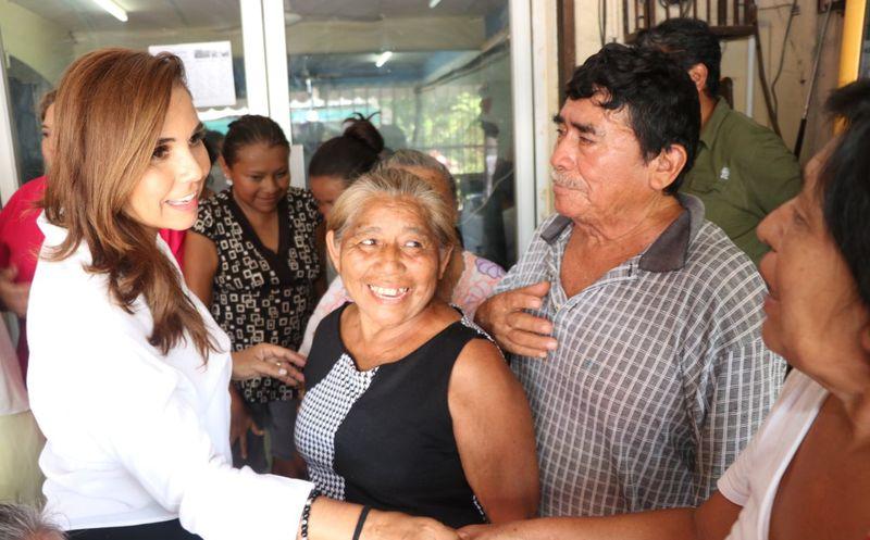 Mara Lezama concluye una campaña exitosa rumbo al triunfo. (Redacción/SIPSE)