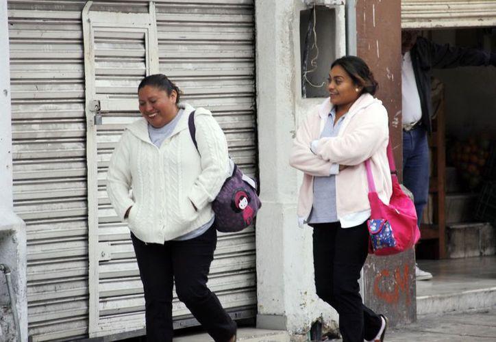 Las temperaturas frescas se mantienen en la Península a causa del frente frío. (Juan Albornoz/SIPSE)