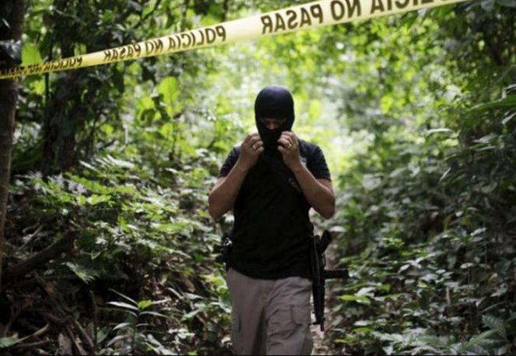 La menor fue encontrada calcinada en un pequeño riachuelo, en la localidad de Catamayo. (Excelsior)