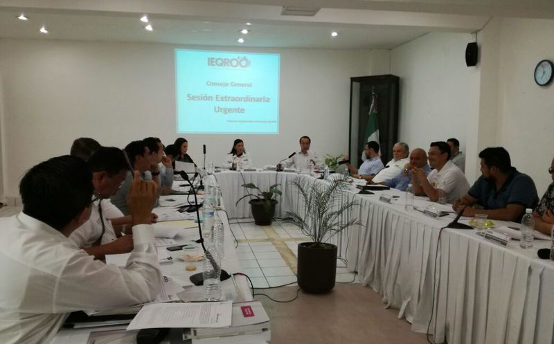 La decisión se tomó luego de que la Sala Regional Xalapa del Tribunal Electoral del Poder Judicial de la Federación (TEPJF) ordenó revocar el registro. (SIPSE)
