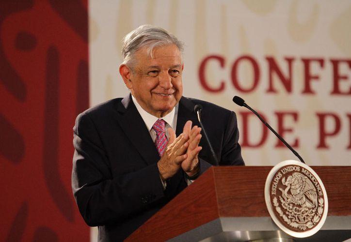 El Mandatario dijo que hay denuncias que se han presentado, pero será la Fiscalía General la que informe la respecto. (Foto: Notimex/Guillermo Granados)