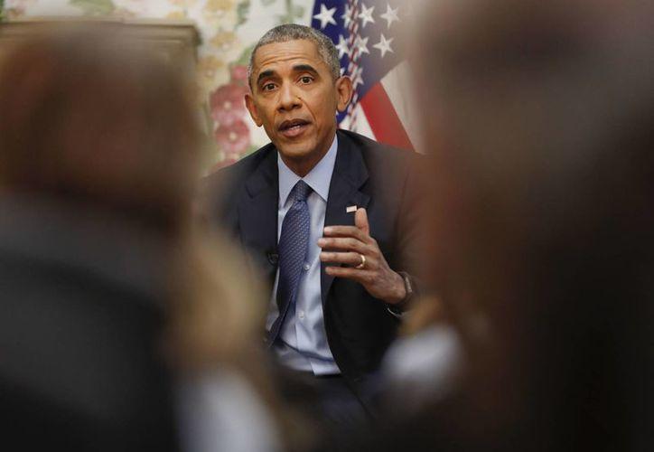 Obama dijo que el próximo martes regresará a Chicago, su ciudad natal, para ofrecer su discurso de despedida. (AP/Pablo Martinez Monsivais)