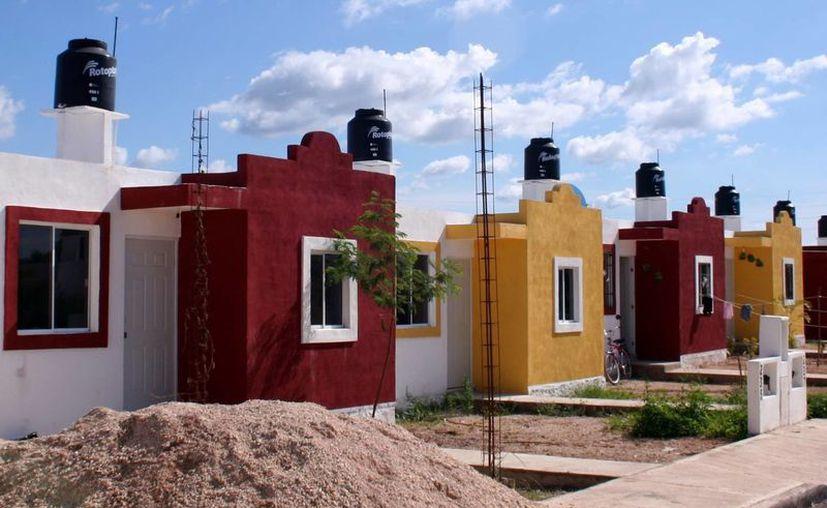 Las modernas construcciones en nada se parecen a las viviendas de los pueblos mayas. (SIPSE)