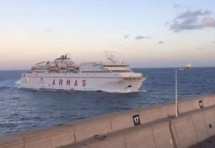 La tripulación y los pasajeros vivieron momentos de tensión y ansiedad después del accidente. (RT)