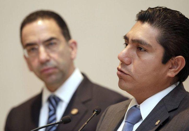 Preciado no asistirá al encuentro convocado por los legisladores afines a Cordero. (Notimex)