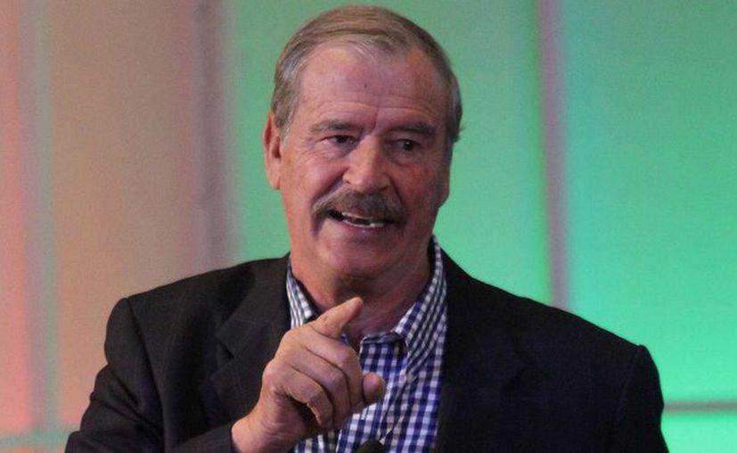 Vicente Fox agregó que debe ser el Gobierno quien tome las decisiones sobre este tipo de proyectos. (Foto: Cuartoscuro)