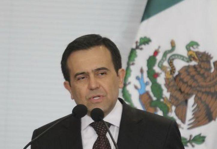 Ildefonso Guajardo (foto) nombró a Virgilio Andrade Martínez para estar al frente de la Cofemer. (Notimex)