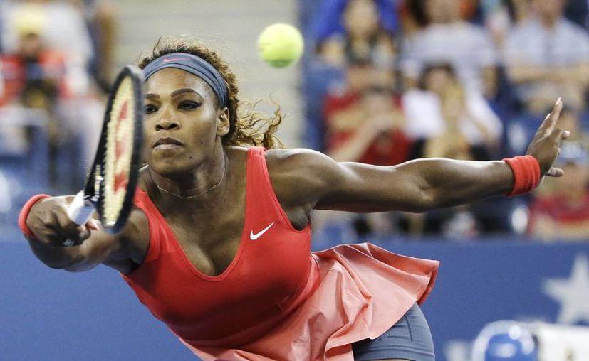"""""""Al ser más vieja, siempre es fabuloso conseguir semejante honor (ganar el título), porque no se sabe si volverás a ganar otro Grand Slam"""", confesó Serena Williams. (Agencias)"""