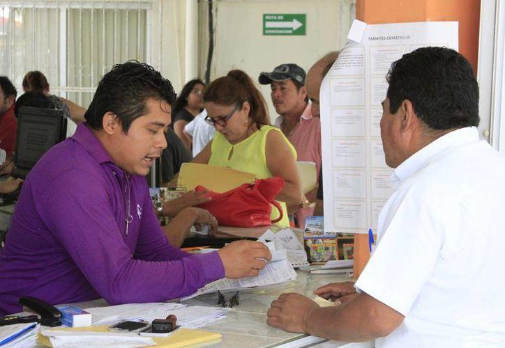 Autoridades municipales detectaron 29 mil predios en el municipio en condición de rezago. (Ángel Castilla/SIPSE)