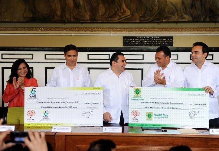 Los recursos donados servirán para apoyar el programa Ampliando el Desarrollo de los Niños (ADN). (Cortesía)