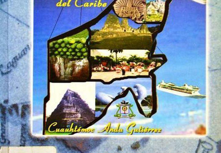 Coloso mexicano del Caribe, es de Cuauhtémoc de Anda Gutiérrez y fue editado en 2004. (Redacción/SIPSE)