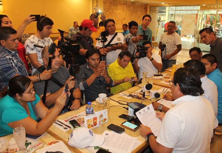 Los líderes sindicales se aliaron para afrontar los embates de la Reforma Educativa. (Joel Zamora/SIPSE)
